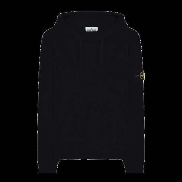 Stone Island Sweat-Shirt Hoodie Men MO731564120-V0029 SWEATER - Black