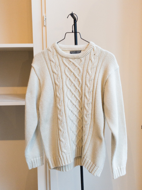 Ecru Knit | Vintage