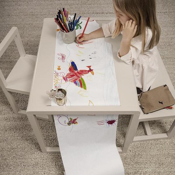 Kids Ferm Living Little Architect Table - Cashmere Beige