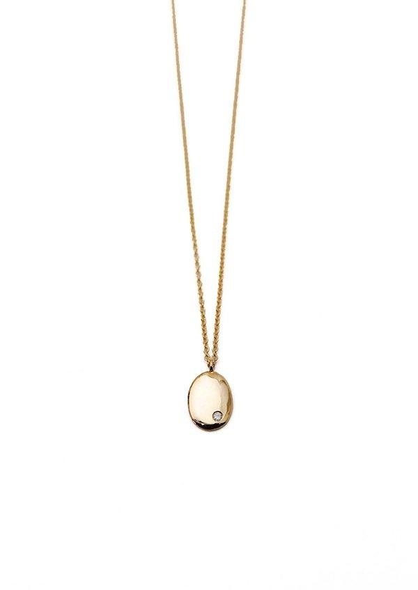 Tiro Tiro Diamond Droplet Necklace