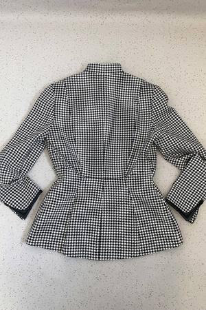 Vintage 1980s Thierry Mugler Jacket - Black/White