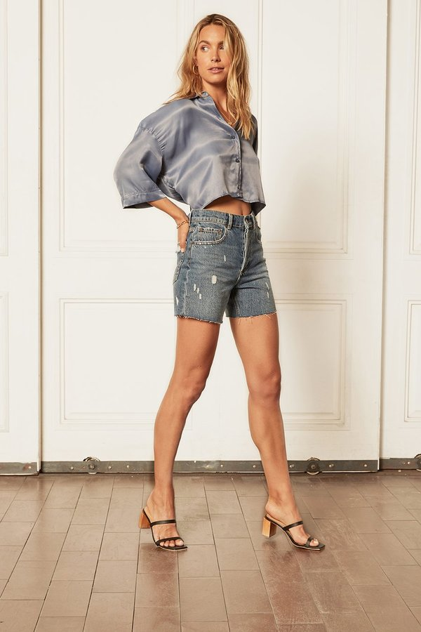 The Monty High-Rise Relaxed Short