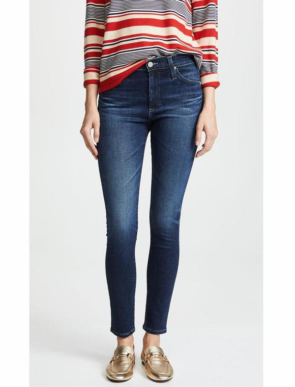 AG Jeans Farrah Skinny Ankle - 4 Years Deep Willow