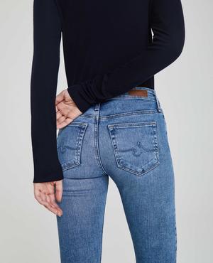 AG Jeans Farrah Skinny Ankle Jeans - Precision