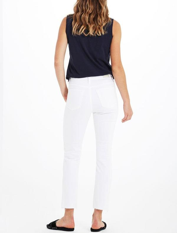 AG Jeans Isabelle Jeans - 1YR White