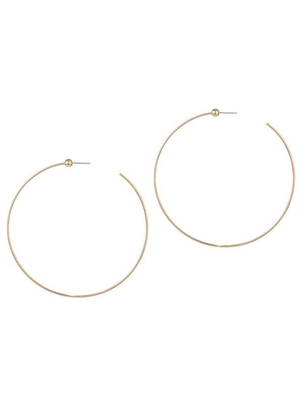 Jenny Bird Large Icon Hoops - 14K gold-dipped brass/gold