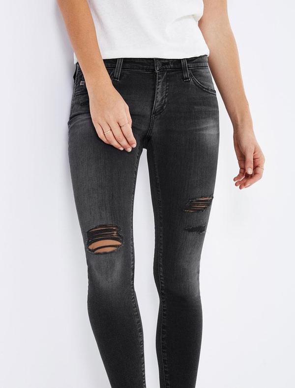 AG Jeans Legging Ankle denim - 8 Years Eroded
