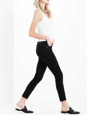 AG Jeans Legging Ankle denim - Black Ink
