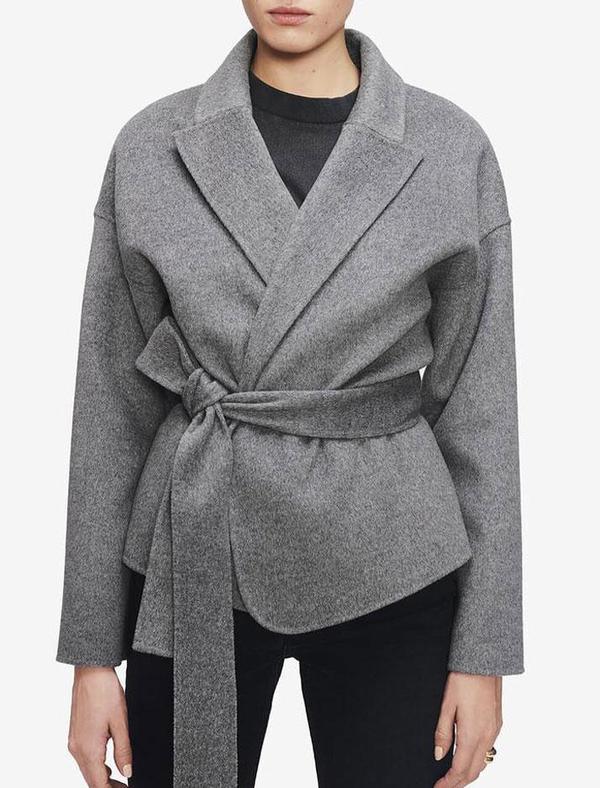 Luna jacket in heather grey