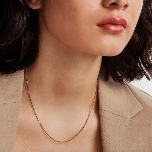 Jenny Bird Malia Necklace - 14K gold-dipped brass