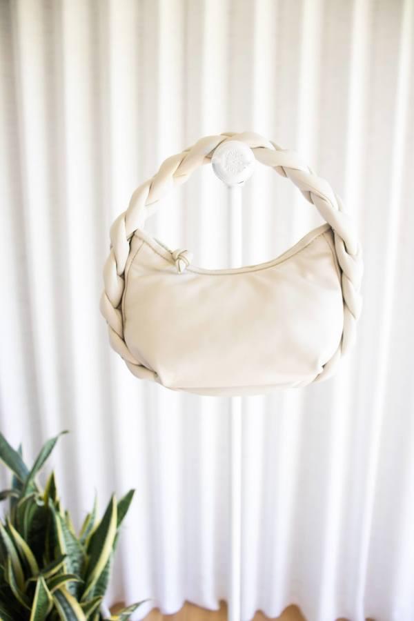 Hereu Cream Espiga Mini Bag