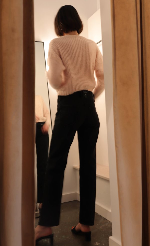 Vintage Calvin Klein Silk Cable Knit Sweater