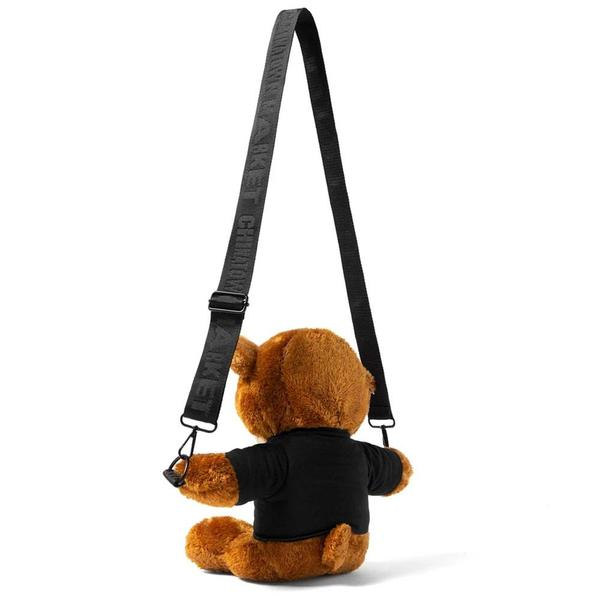 Chinatown Market Teddy Bear Side Bag - Brown
