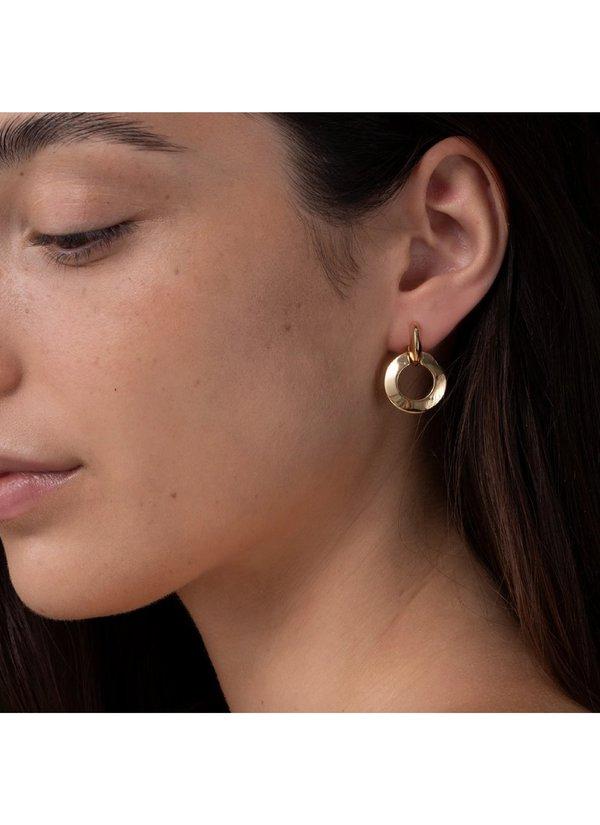 Jenny Bird Toni Knockers earrings - 14K gold-dipped brass