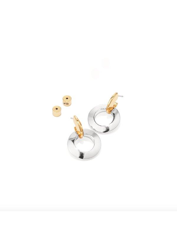 Jenny Bird Toni Knockers earrings - 14k gold-dipped/silver