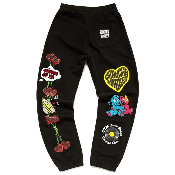 Be Mine Sweat Pants 'Black'