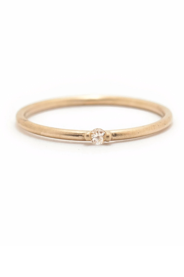 Valley Rose Etoile Ring - Recycled Diamond