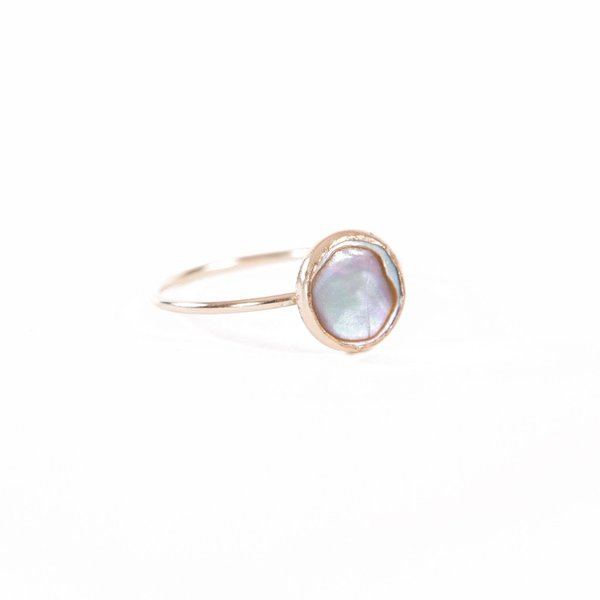 Olwen Abalone Orion Ring