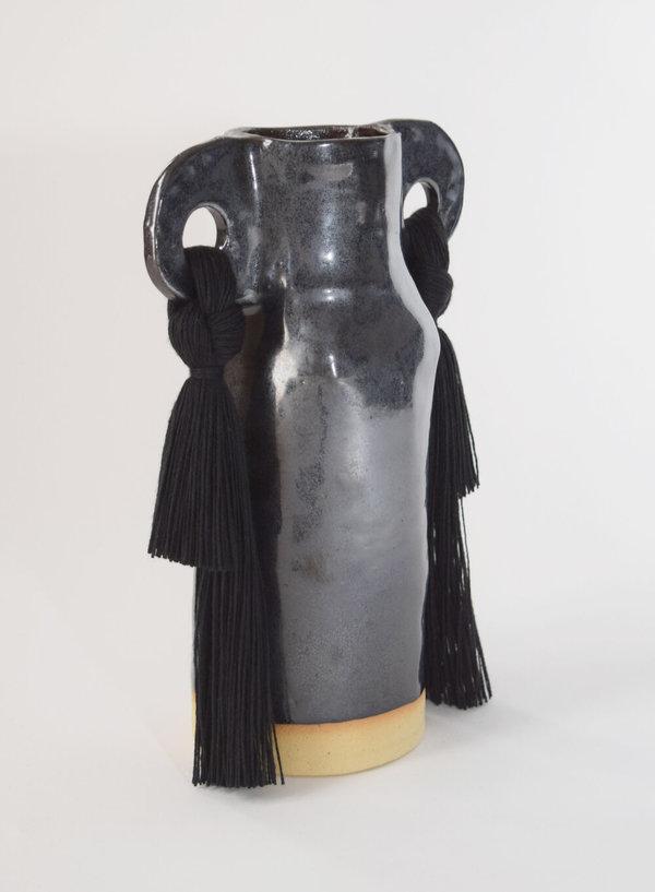 Karen Gayle Tinney Vase #606 - Black