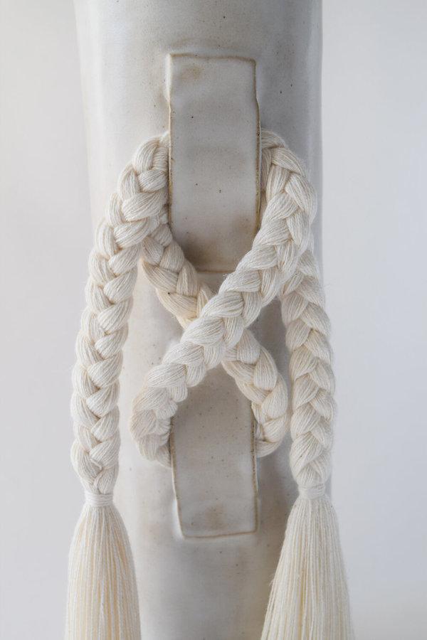 Karen Gayle Tinney #696 Vase - White