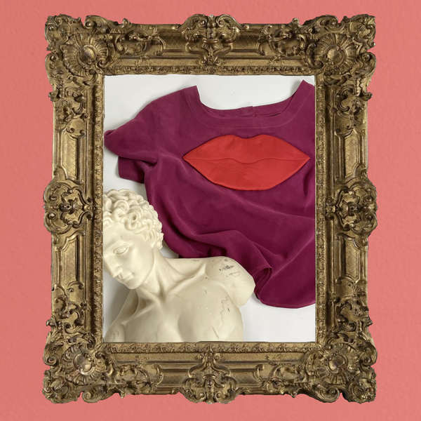 Laurs Kemp Upcycled Loose Lips Blouse