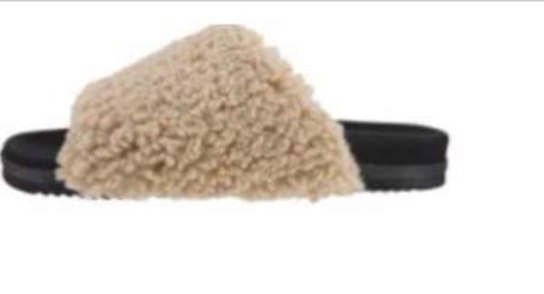 Roam Fuzzy Slider - Nude