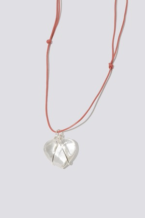 Coral Sweetheart Necklace