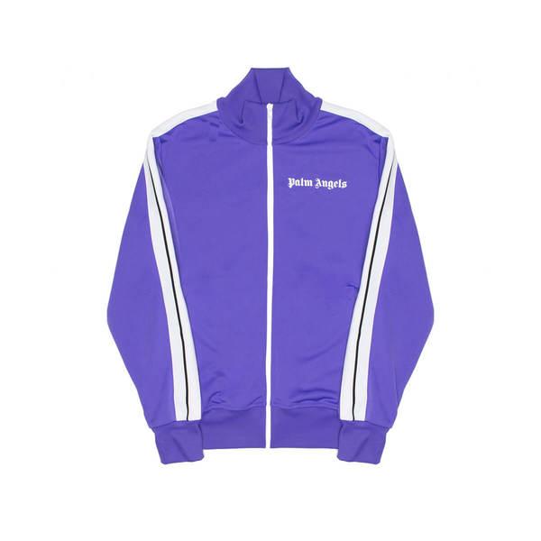 PALM ANGELS Classic track jacket - Purple