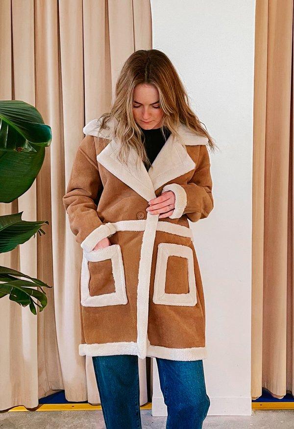 """""""Feels Natural"""" Coat"""