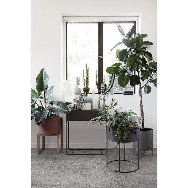Plant Box Round - Olive