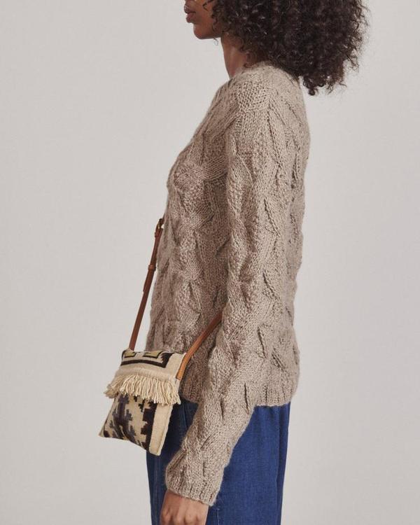 Rachel Comey CONESTE CROSSBODY BAG - Natural
