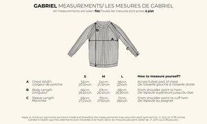 GABRIEL Petrol Sweater