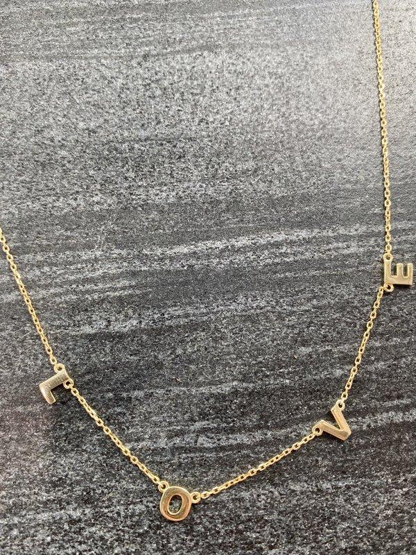 Love Letters Necklace | Women's Clothing Boutique