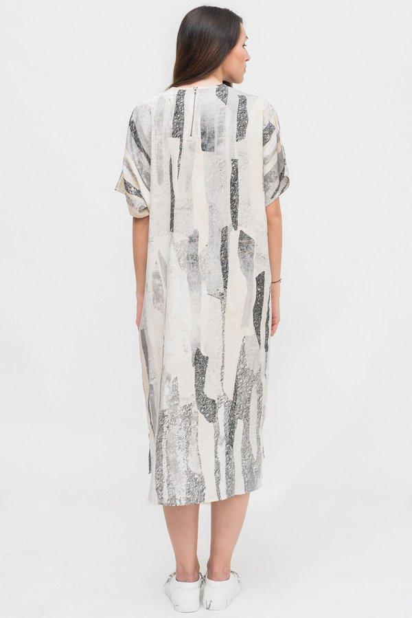 Native Youth Rockslide Print Dress