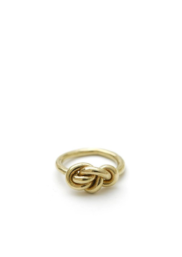 Knot Ring // Brass // Size 7