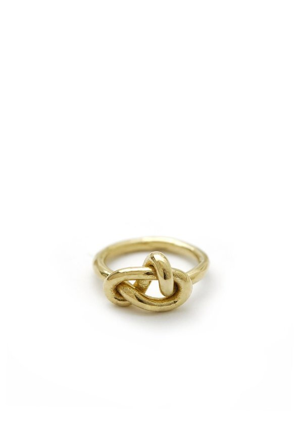 Knot Ring // Brass // Size 7.5