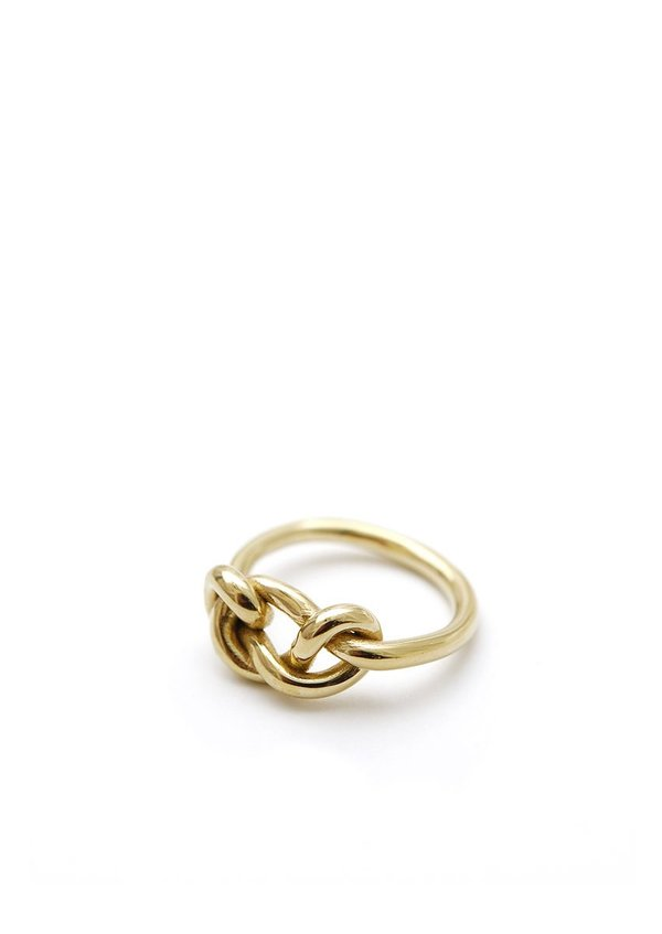 Knot Ring // Brass // Size 8