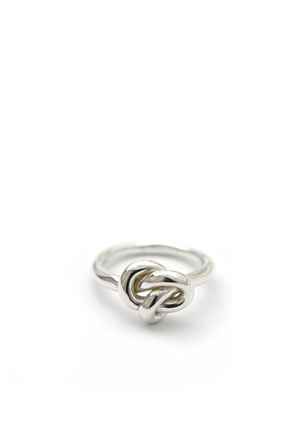 Knot Ring // Sterling Silver // Size 7