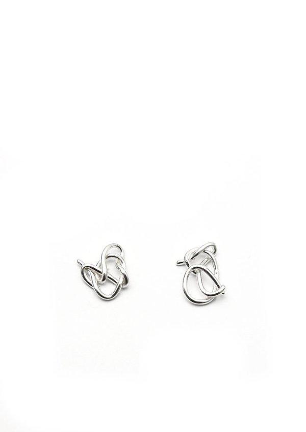 Tiro Tiro Knot Studs - Sterling Silver