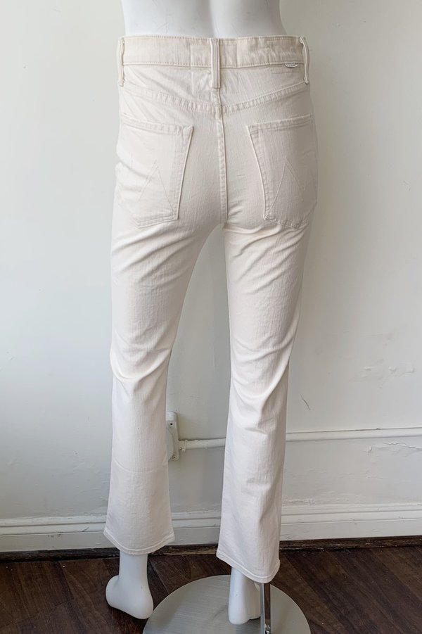 Mother Denim High Waisted Rider Ankle Jeans - Act Natural