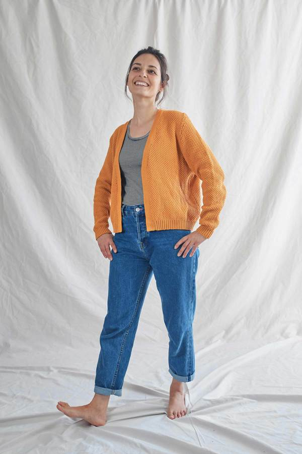 L'envers ROXANNE Cotton Cardigan