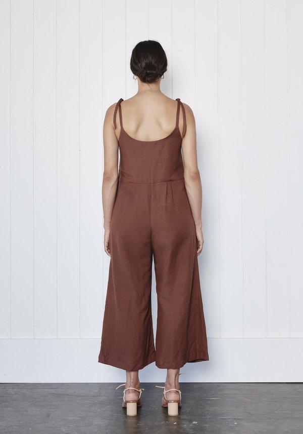 First Rite Tie Pantsuit