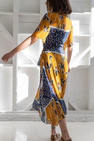 SILK BATIK DRESS