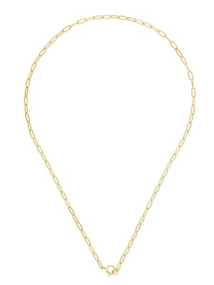 Five and Two Rogue Necklace - 14k gold
