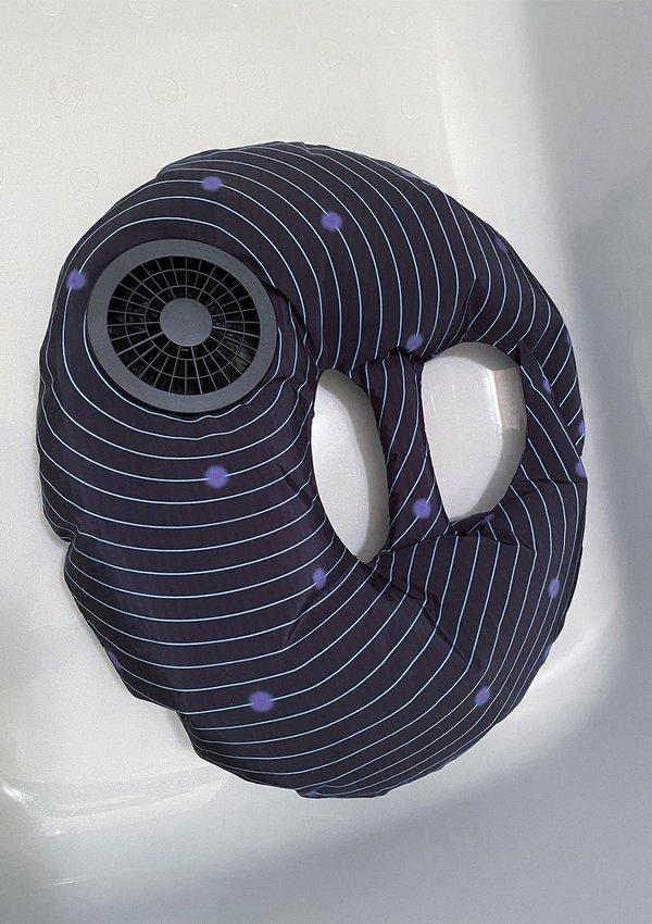(Pre-order)0x0 100% AIR Purse - BLACK SENSE