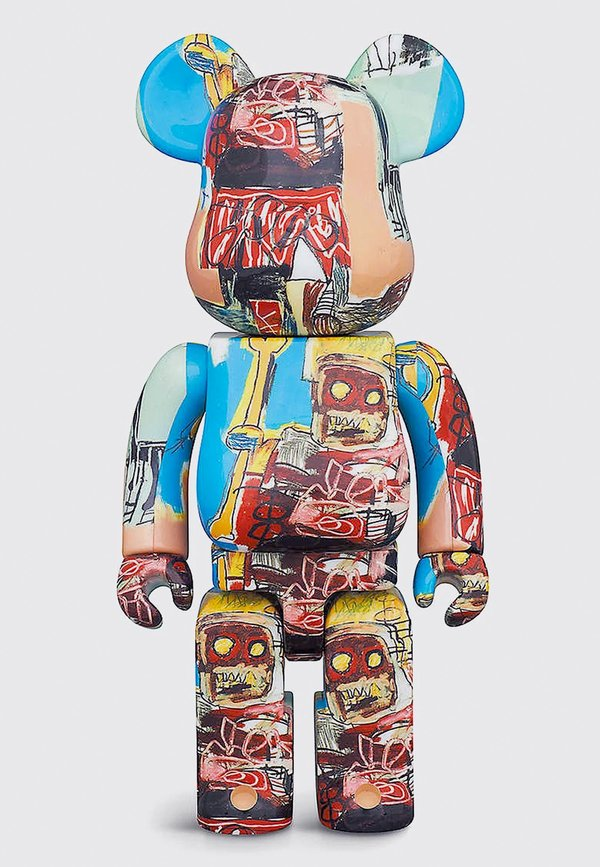 MEDICOM TOY Be@rbrick Basquiat #6 1000%