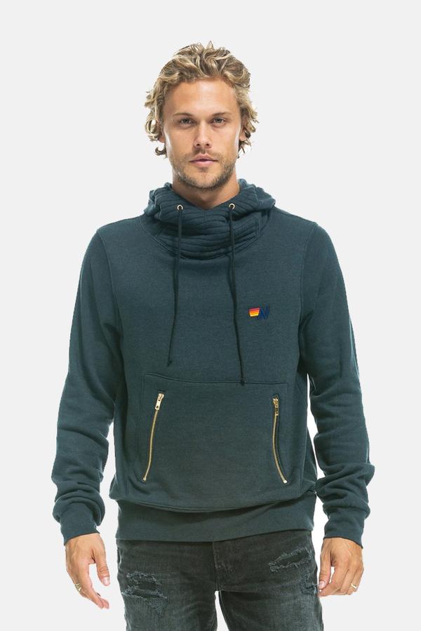 Aviator Nation Ninja Hoodie Sweater - Charcoal