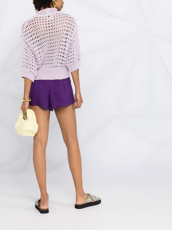 Forte Forte 8124_My Knit sweater - Lilac