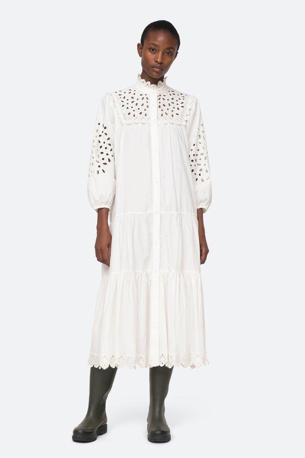 Sea NY Hazel Dress - White