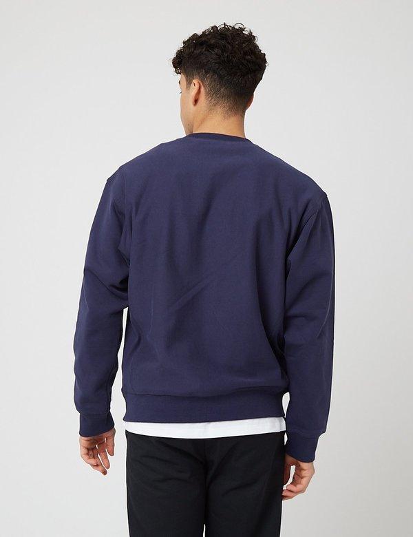 Carhartt-WIP American Script Sweatshirt - Space